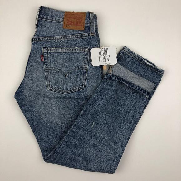 Levi's Denim - Levi's 501ct Patchwork Jeans
